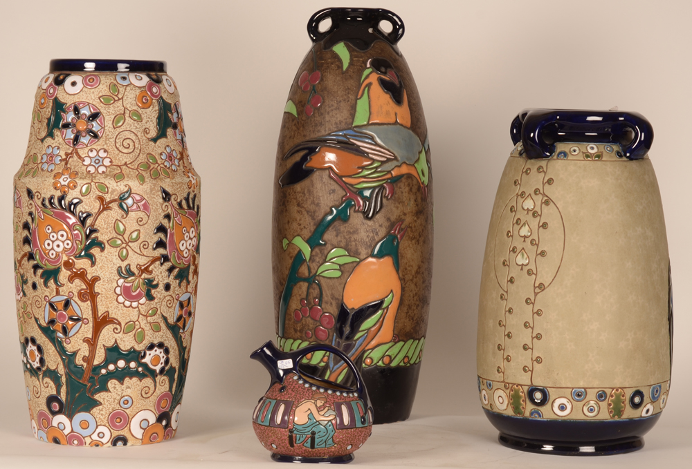 Amphora Vases — A sample of our Amphora (Czecho-Slovakia) collection.