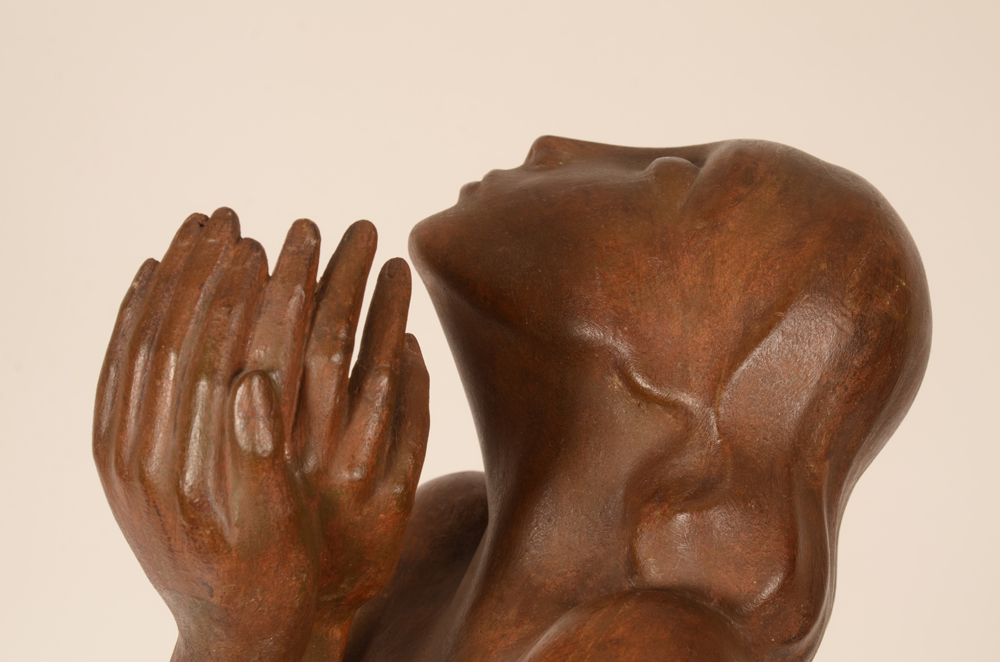 ?Jan Anteunis — Detail of the face and hands