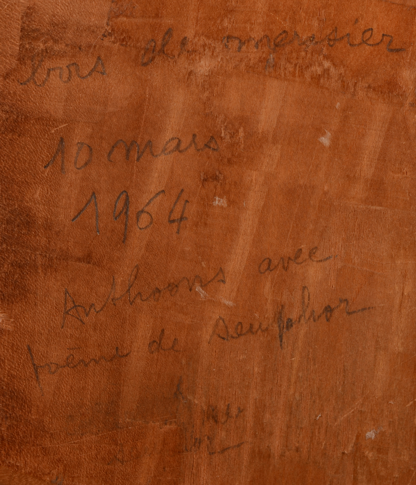 Willy Anthoons and Michel Seuphor — <p>Pencil inscription at the back, by Seuphor?</p>