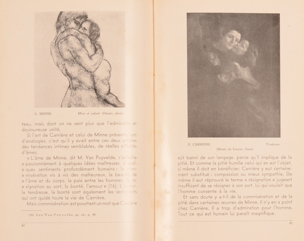 L'Art et La Vie — Eugène Carrière and George Minne in the March issue