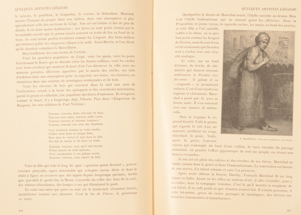 Art Flamand et Hollandais 1907 — Article on François Maréchal