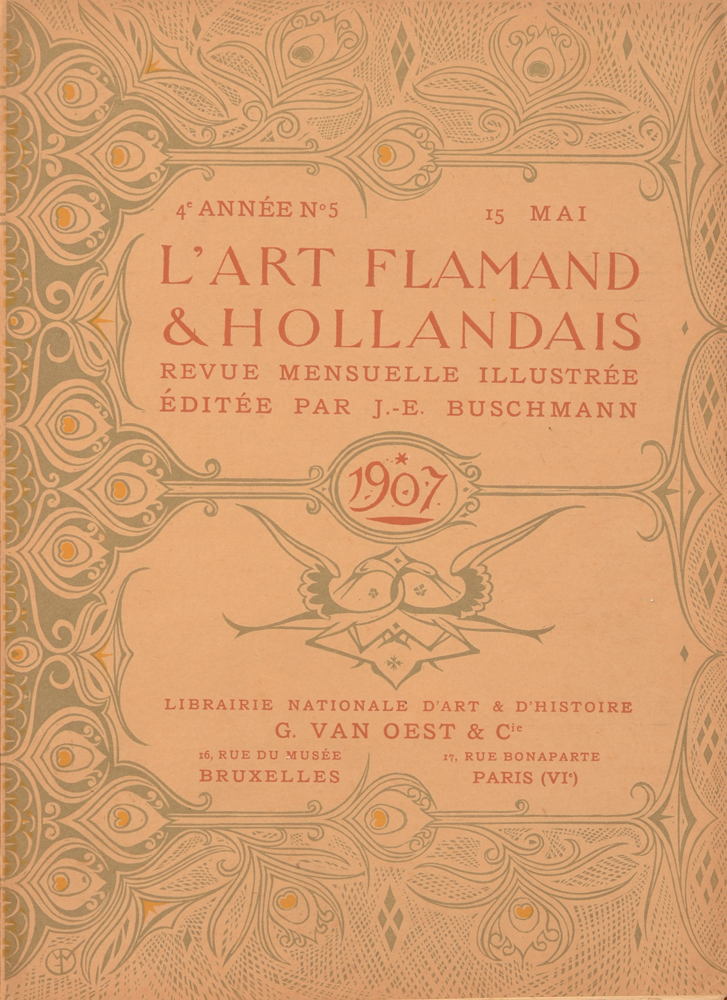Art Flamand et Hollandais 1907 — May issue cover
