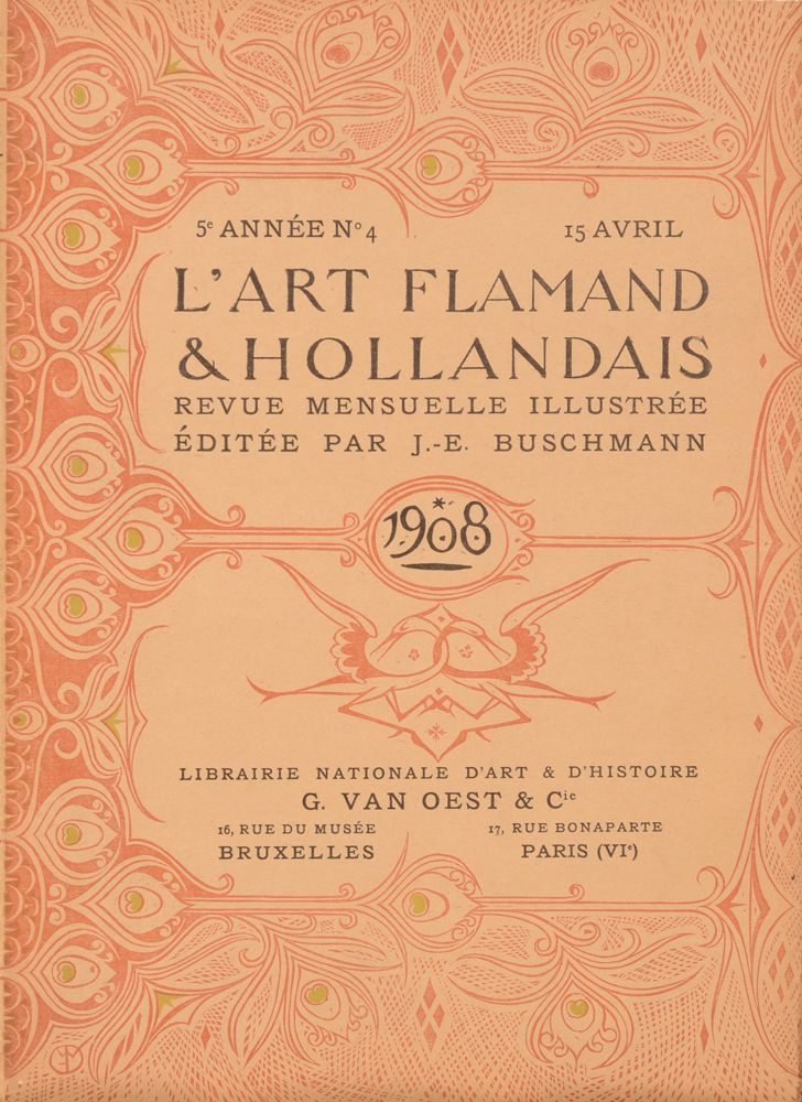 Art Flamand et Hollandais 1908 — April issue loose