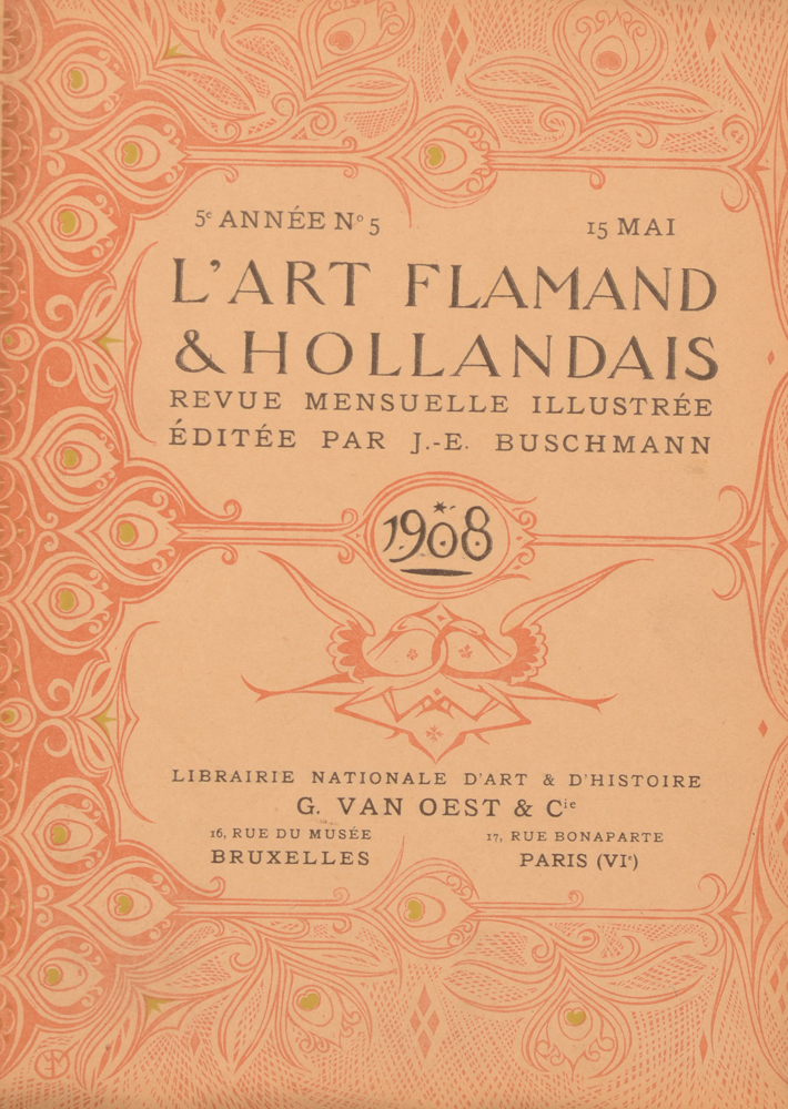 Art Flamand et Hollandais 1908 — May issue loose