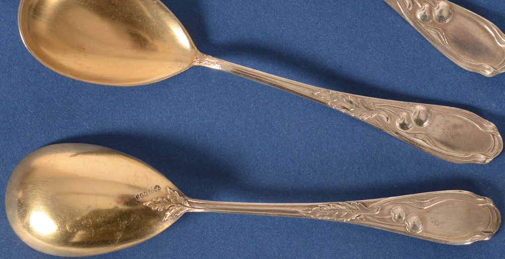 Franz Bahner — Detail of the handles, back and front