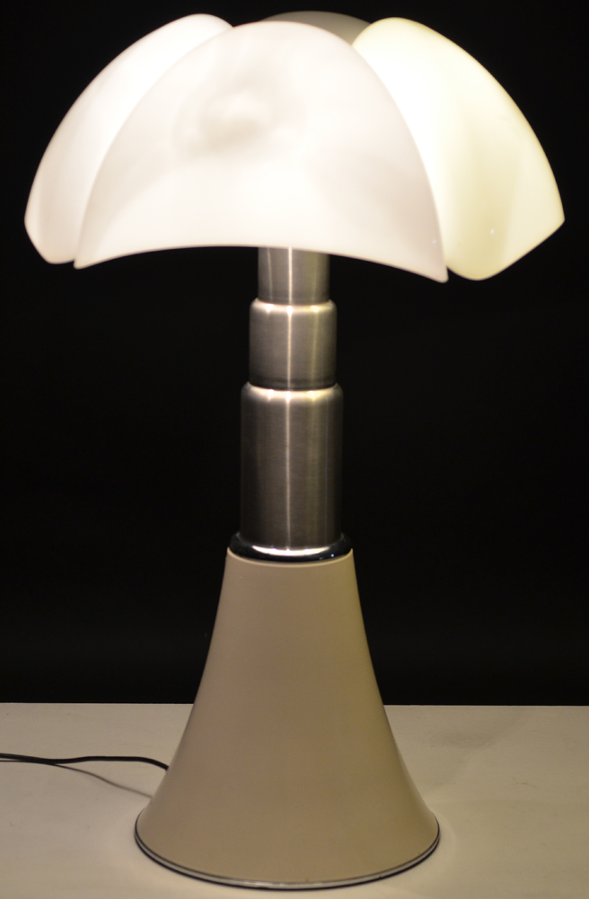 Gae Aulenti — Pipistrello lamp, bought by the previous owner in the 1970's.