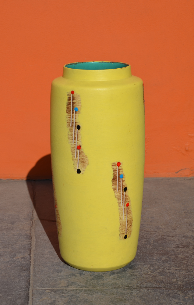 Bay Keramik — A good, large vintage German ceramic vase, designed in 1960.