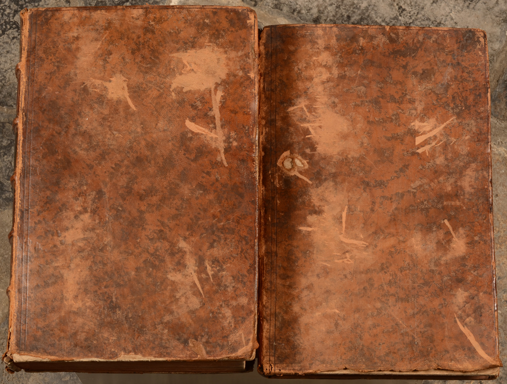 Biblia Sacra — Detail of the bindings