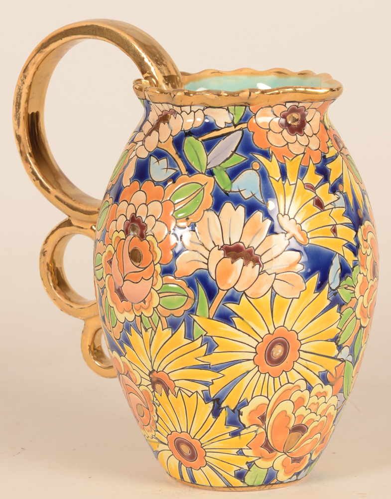 Boch La Louviere pitcher — Side view