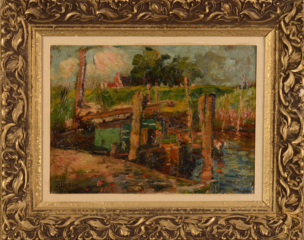 Rene Bosiers — The painting with its probably contemporary frame