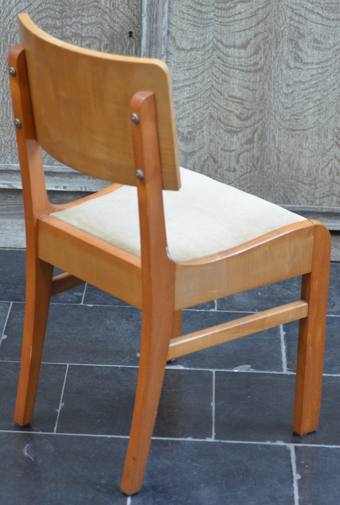 Jules Boulez — Back of one of the chairs