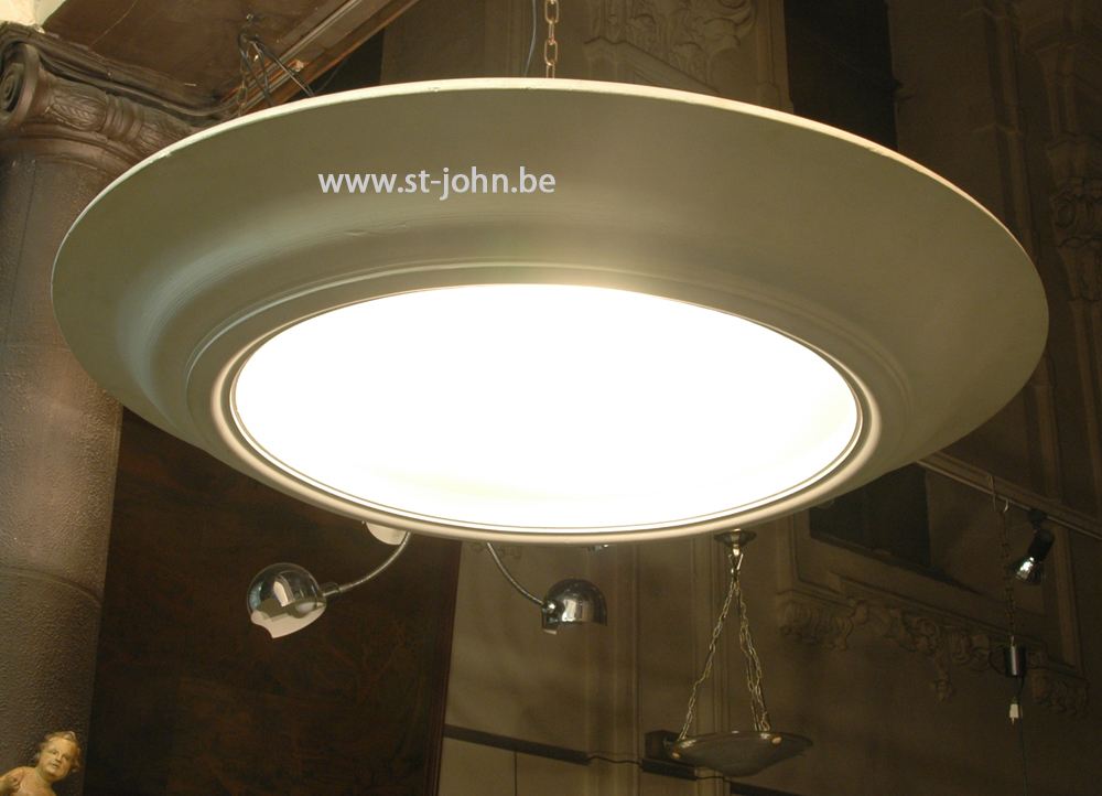 Jules Boulez: impressive art deco ceiling light