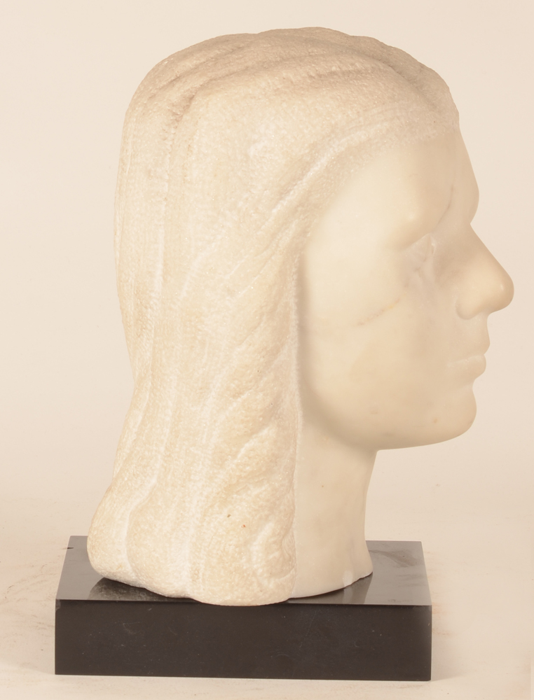 Roger Bracke and Oscar Poelman — Profile of the bust, turned to the right