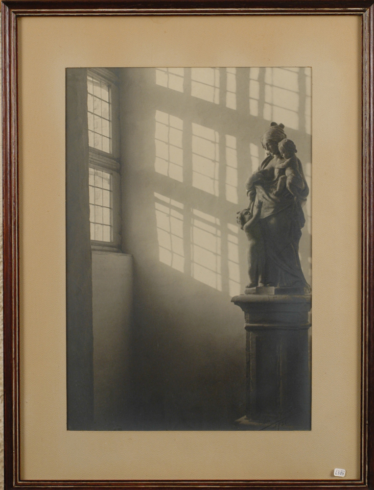 Charles Buyle — A vintage, signed, photograph.