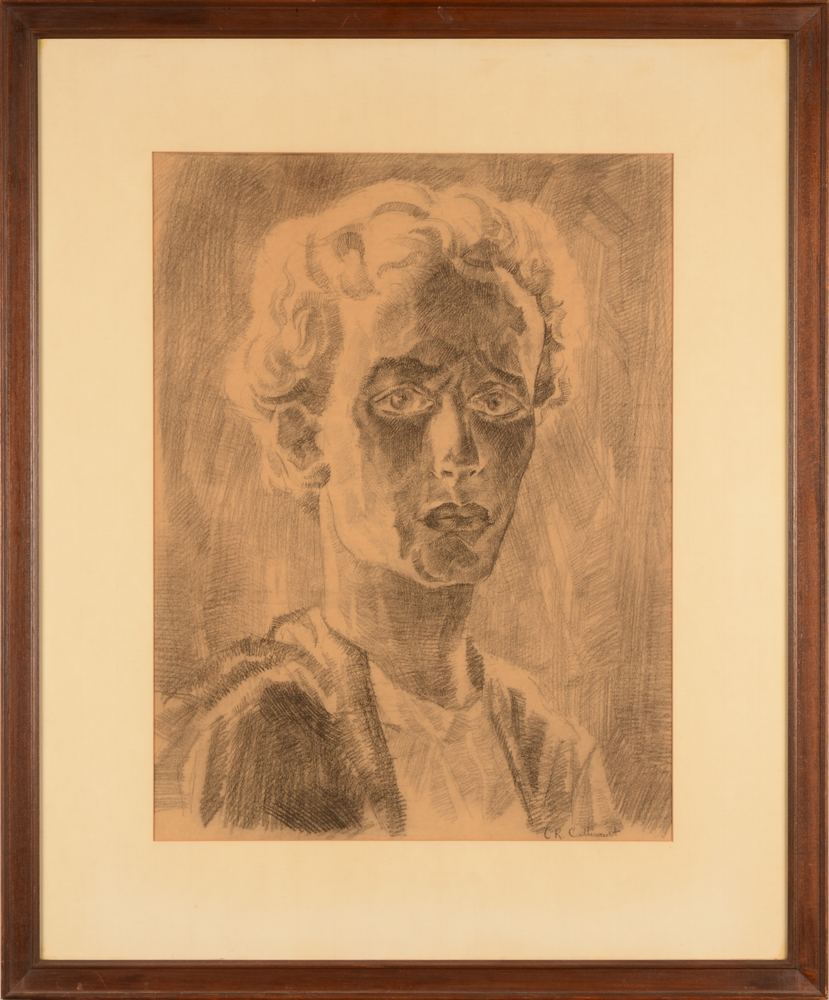 Charles-René Callewaert — The drawing in its frame