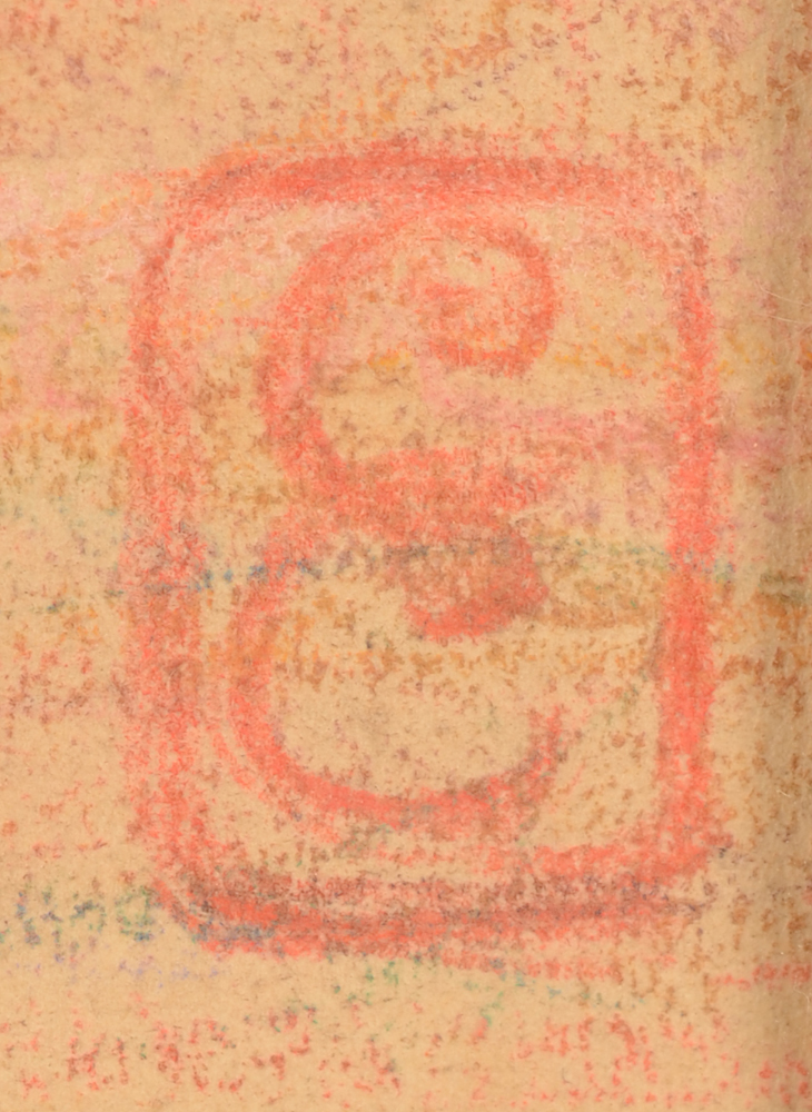 Cecile Cauterman — Monogram signature, bottom right