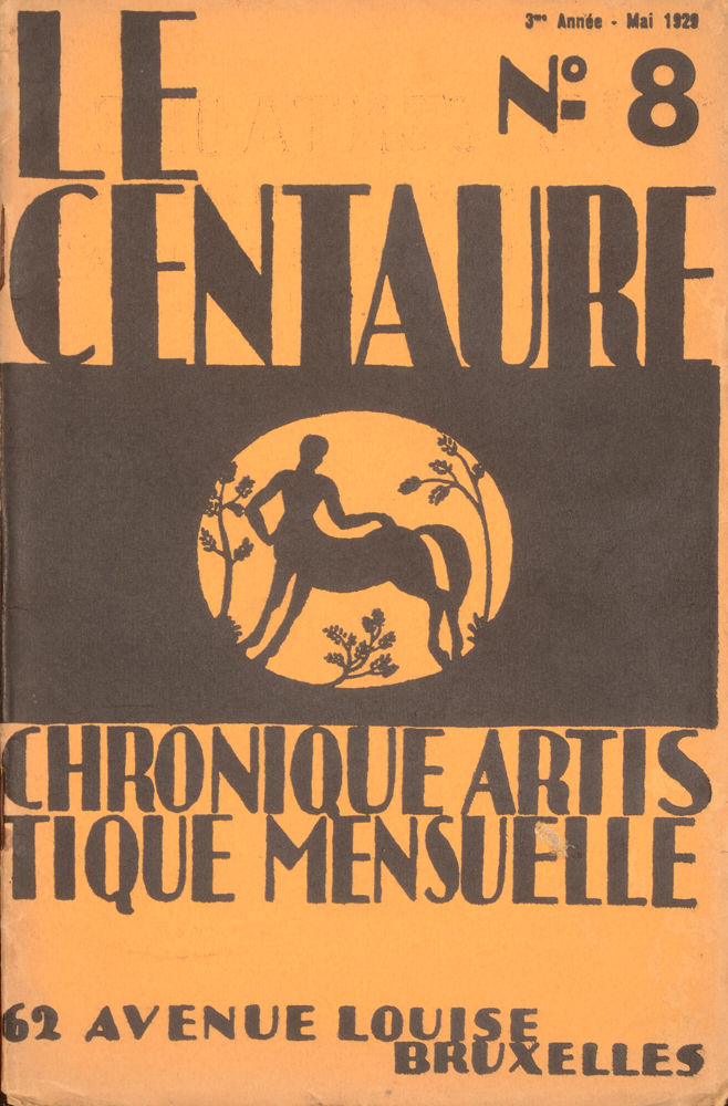 Le Centaure — May 1929