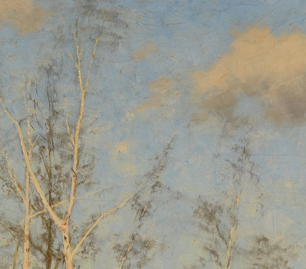 Emile Claus — Detail of the sky