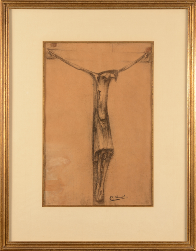 Oscar Colbrandt — The drawing in its frame
