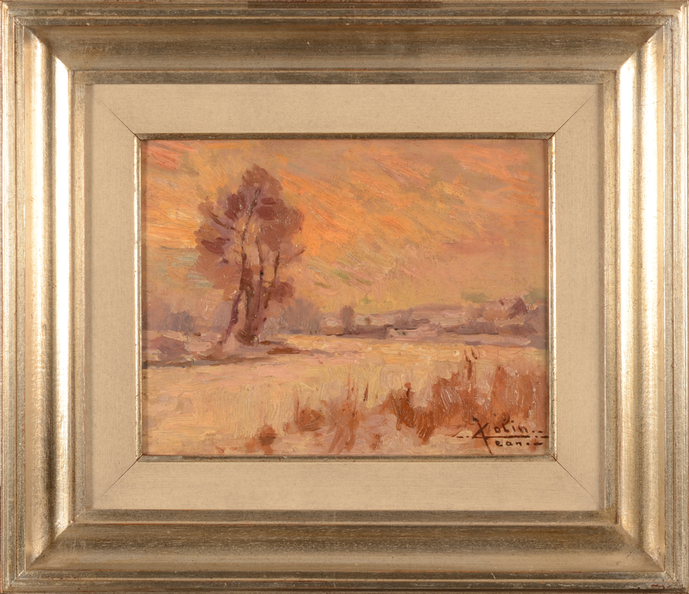 Jean Colin — The painting in its modern frame