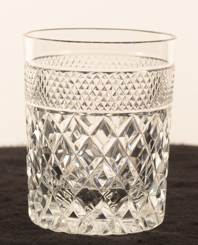 Crystal whiskey glass 93 mm — <p>verre à whiskey en cristal</p>
