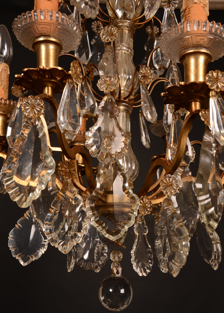 Small crystal chandelier