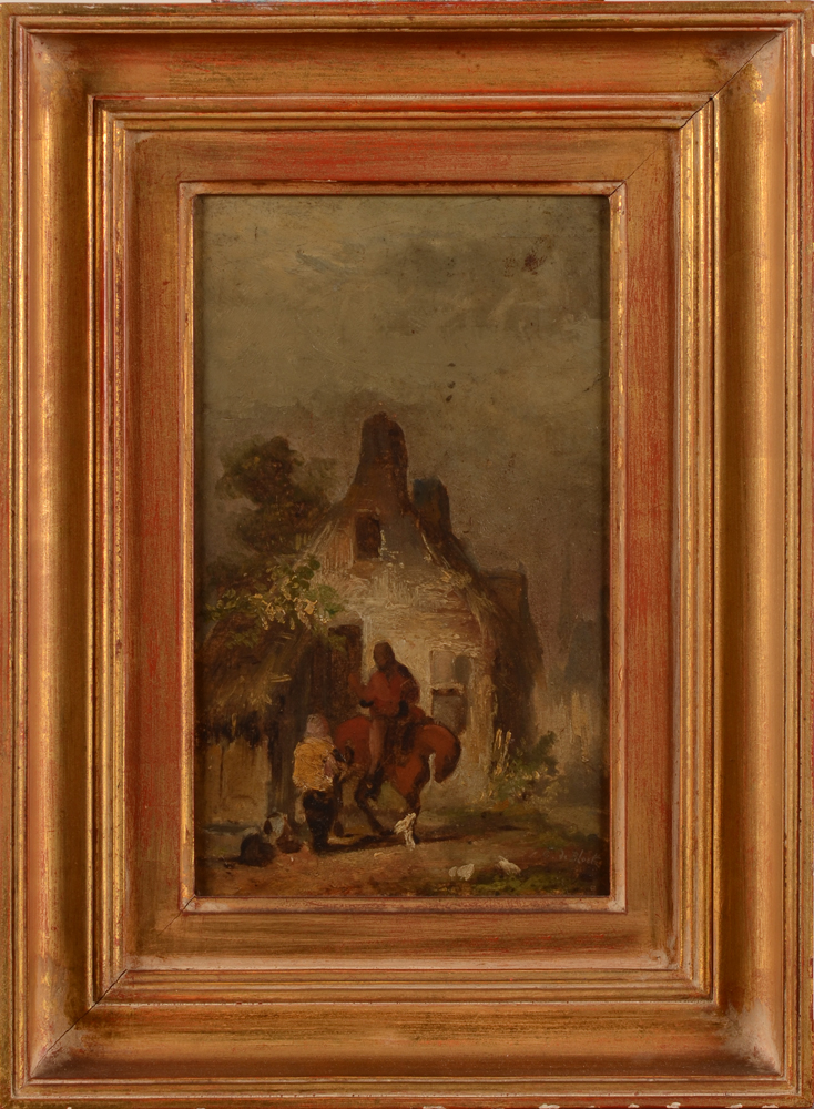 Eugène De Block — <p>The painting with frame</p>