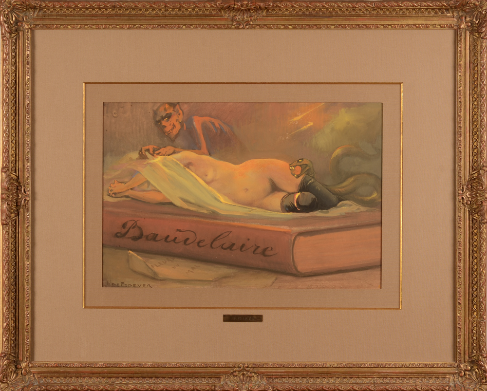 Jan Frans De Boever — The painting in its frame