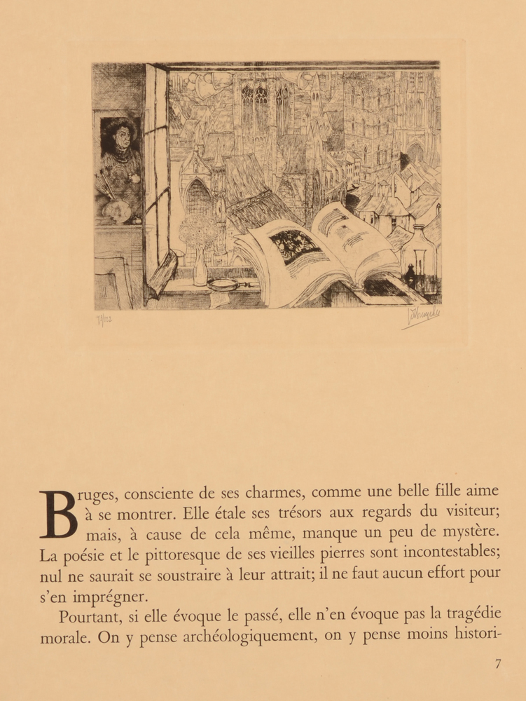 Jules De Bruycker — Beginning of the text by Gergoire le Roy
