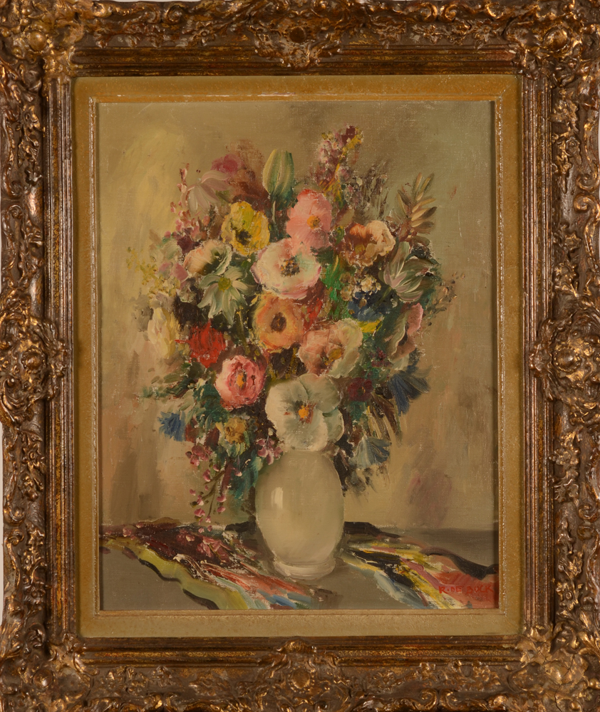 Raphaël De Buck Flowers — In the original frame