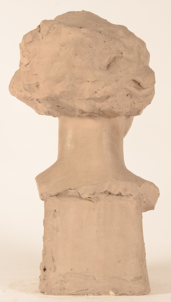 Carl De Cock — Back of the sculpture