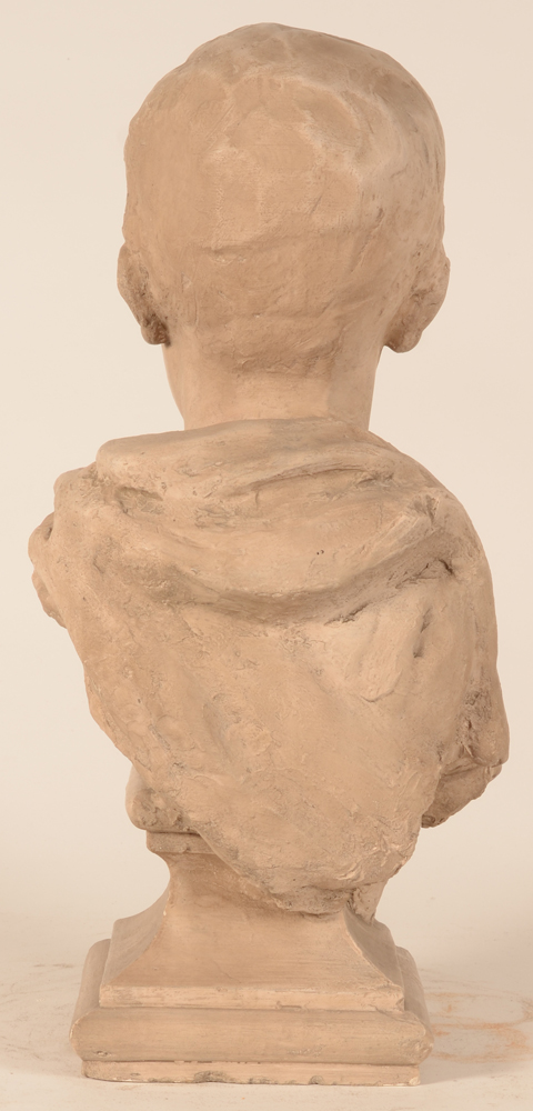 Carl De Cock — Back of the classical bust