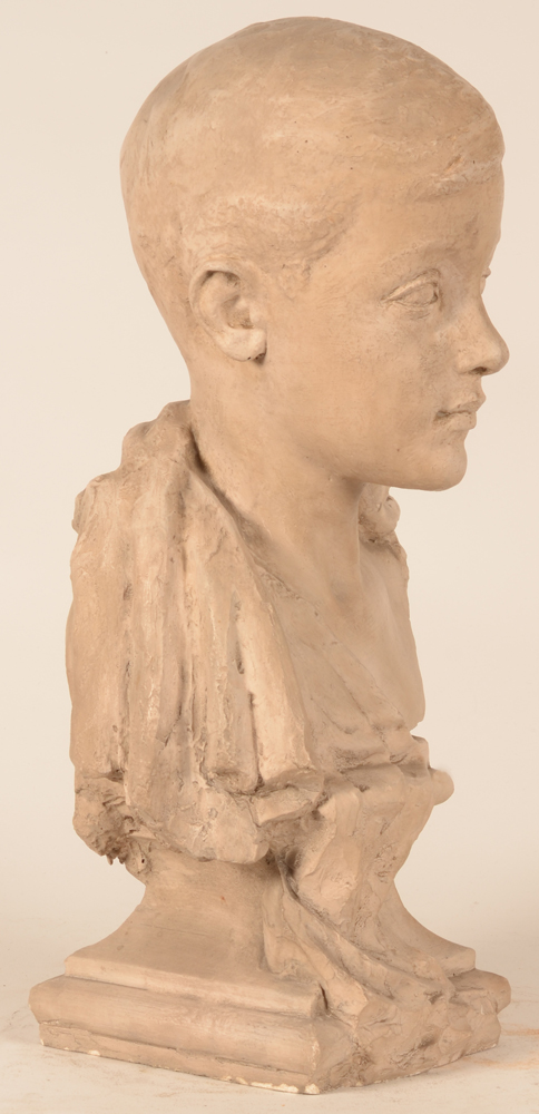 Carl De Cock — Profile of the bust
