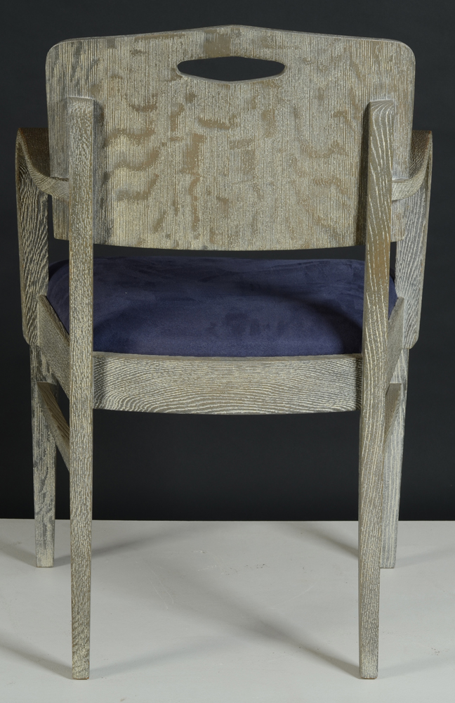 De Coene Freres — Back of the arm chair, note the grip at the top.