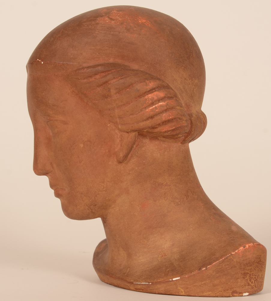 Robert Decocq — Profile of the bust<br>