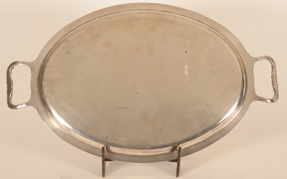 Delheid Freres — Back of the tray