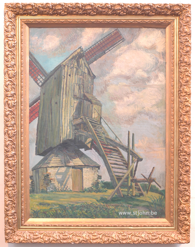 Alfons Dessenis: with frame