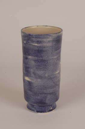 "1967-1970 — Vase, 21,5 x 11 cm, impressed mark ""JM"" & glaze formula (bottom)."