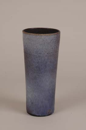 "1967-1969 — Vase, 24,5 x 11 cm, signed ""Joost Maréchal"" (bottom) & impressed mark ""JM""."