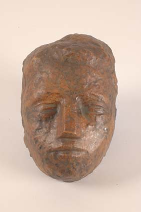 1965-1970 — Mask of a boy, 21 x 14 cm, unsigned.