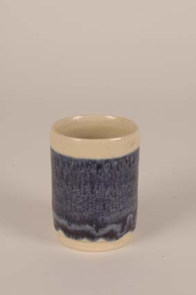 1968-1969 — Vase, 10 x 7,5 cm, unsigned, with glaze formula (bottom).