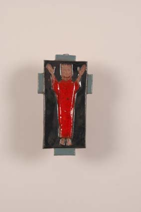 1957-1960 — 'Christ', 14,5 x 8 cm, unsigned.