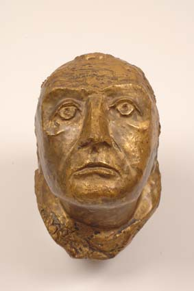 1965-1970 — 'Watcher Head', 21 cm high, unsigned.