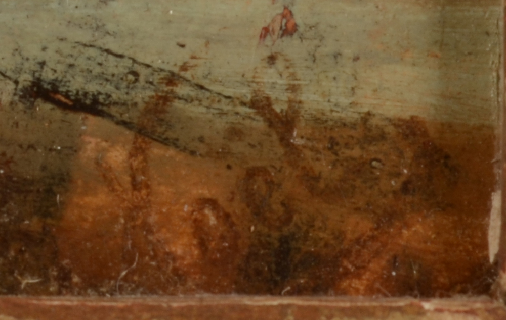 Unknown artist — Detail of the signature of the artist, bottom right