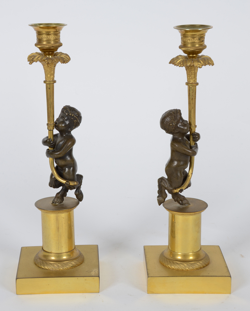 Empire candleholders