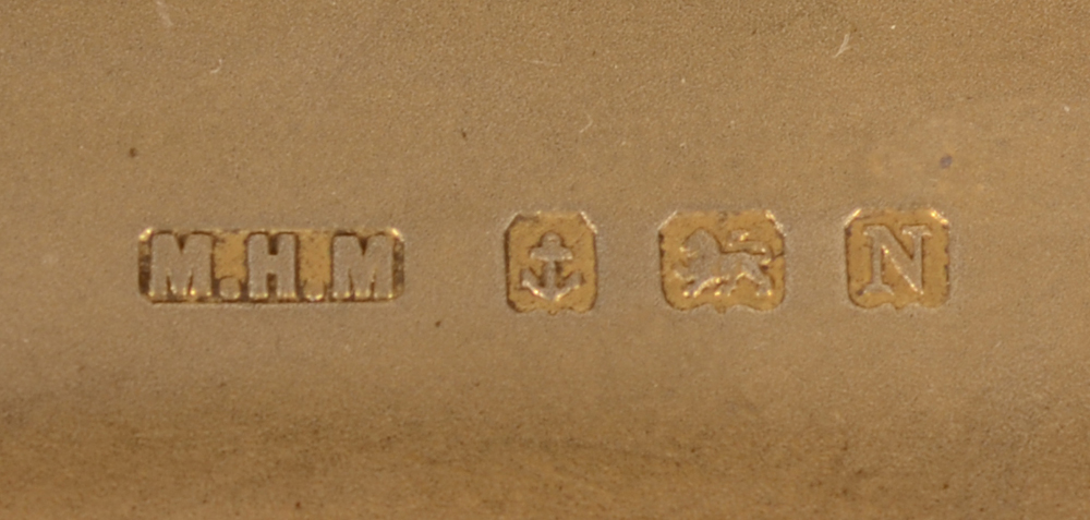 M. H. Meyer Ltd.  — Marks on the inside of the case