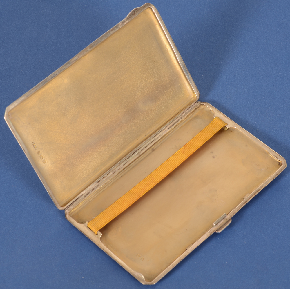 M. H. Meyer Ltd.  — the inside of the case in silver gilt