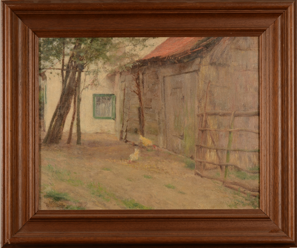 Frits Van Loo Farm — With its oak frame