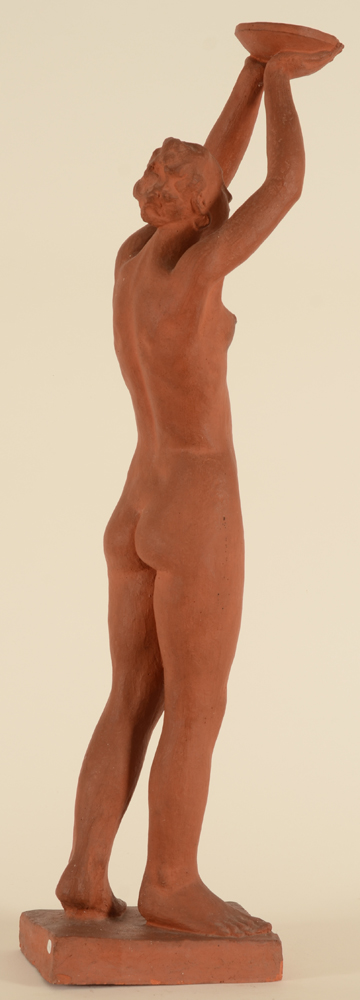 Jozef Gause — Side view of the sculpture