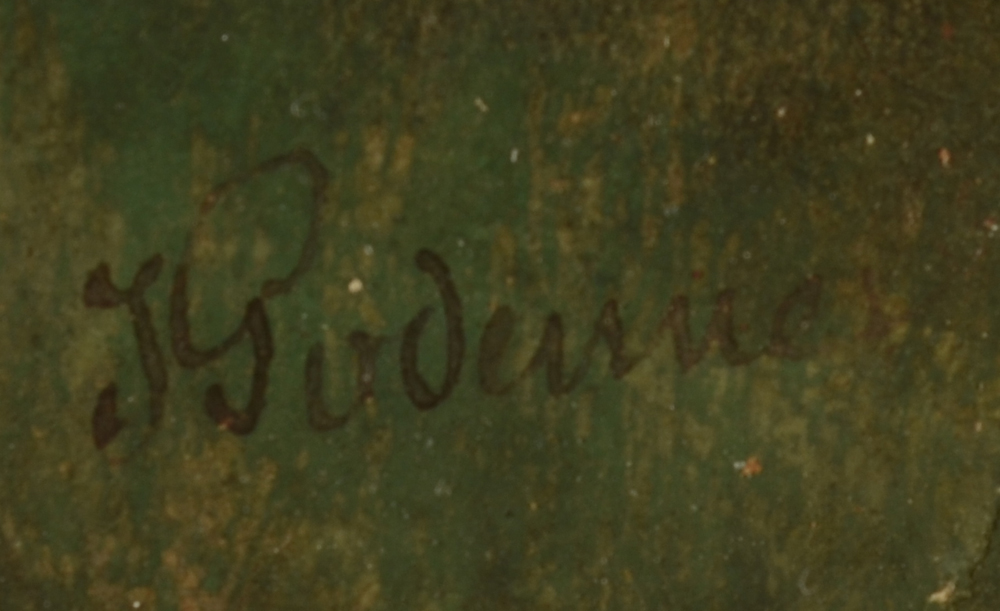 Jean Julien Godenne — Signature of the artist, bottom right